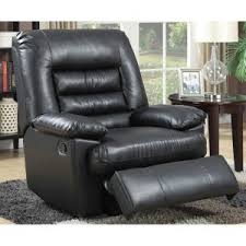 faux leather recliners hayneedle
