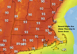 forecast boston will warm up quickly before likely record