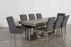 caira 9 piece extension dining set living spaces