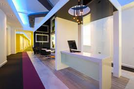 interior photographers manchester manchester architectural new reception desk area interior photography manchester