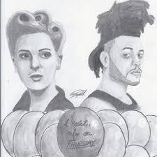 the weeknd fan art i don u0027t even know drawings u0026 illustration