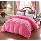 Solid Pink Comforter Twin Amazon Com Pink Comforters Comforters U0026 Sets Home U0026 Kitchen