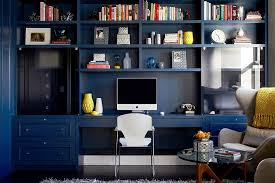 Modern Home Office Ideas by 10 Eclectic Home Office Ideas In Cheerful Blue