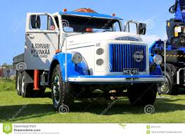 volvo truck commercial for sale volvo 495 vintage truck in a show editorial stock photo image