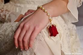 rose pearl bracelet images Rose bracelet bridesmaids bracelet flower girl bracelet ivory jpg