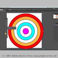 how to create concentric circles in illustrator tutorial