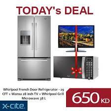 Whirlpool Inch French Door Refrigerator - get this whirlpool french door refrigerator wansa 28 inch tv