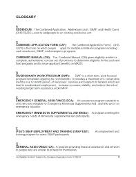 Minnesota Power Of Attorney Short Form by An Eligibility Workers Guide To The Combined Application Form