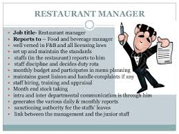 Food Service Manager Resume Resume Employment Examples Whitehouse Common Primary Moodle