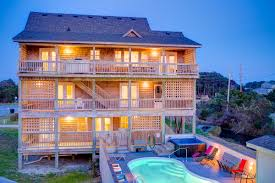 five bedroom house for rent 43 best waves vacation rentals hatteras island images on