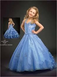 little girls long ball gowns