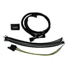 trailer tow wiring harness kit with 7 way round connector