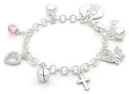 charm bracelet design your own baby children s charm bracelet includes 1
