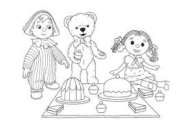 andy pandy meal coloring andy pandy coloring