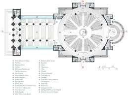 catholic church floor plan designs the proposed design of the new port au prince cathedral haiti