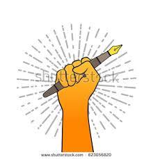 journalist writing stock vectors images u0026 vector art shutterstock
