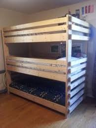 triple bunk bed guest room pinterest triple bunk beds beds