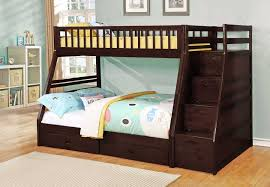 Espresso TwinFull Bunk Bed - Full bunk beds
