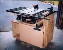 diy table saw stand with wheels homemade table saw stand and cabinet homemadetools net