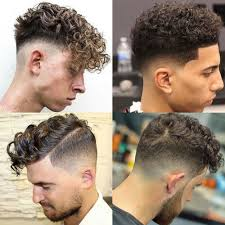 the curly hair fade men u0027s hairstyles haircuts 2017
