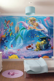 19 best orlaiths princess room images on pinterest princess room a walltastic mural of mermaids for a girl s bedroom