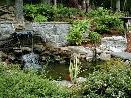 backyard water features waterfalls backyard and yard design for