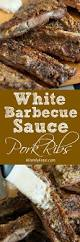 white barbecue sauce pork ribs a family feast