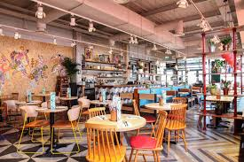 lexus cafe vancouver cabana is a new brazilian restaurant designed by michaelis boyd