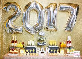 gold new years eve cocktail party mimosa bar soiree event design