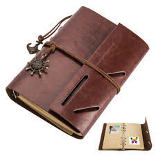 large leather scrapbook travel scrapbook ebay