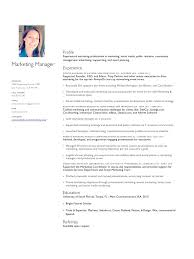 Revised Resume Content Marketing Resume Resume For Your Job Application