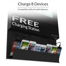 light box display charging station chargetech
