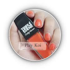 sally hansen triple shine polish play koi 240 swatches