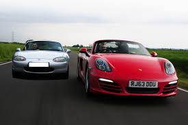 porsche modified mazda mx 5 to porsche boxster beater for 5k auto express