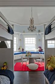 High Window Seat - portland maine built in window seat ideas kids beach style with