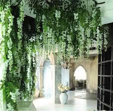 Wedding Home Decoration Aliexpress Com Buy 6pcs Romantic Silk Wisteria Artificial