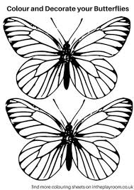 free printable butterfly colouring pages printable butterfly