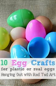 Easter Egg Decorations To Make by 10 Egg Craft Ideas