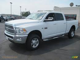 2010 dodge ram 2500 big horn edition crew cab 4x4 in bright white