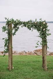 wedding archways lakeside navy and blush wedding outdoor wedding arches