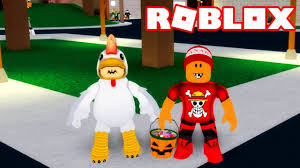 roblox pedindo doces no halloween the ghosting hour