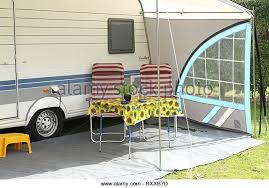 Motor Caravan Awnings Caravan Awning Stock Photos U0026 Caravan Awning Stock Images Alamy