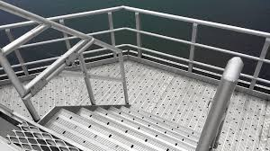 Prefabricated Aluminum Stairs by Quicklock Aluminium Handrail And Walkway System U2013 Aluminium Offshore