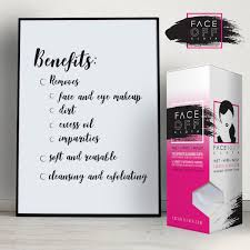 face off the best makeup remover cloth brilliant inventions