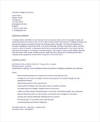 Resumes In Word 6 Business Resumes Free Sample Example Format Free