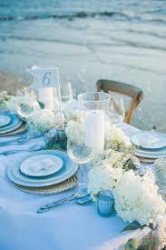 romantic table settings 35 romantic beach wedding table settings weddingomania