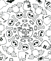 Disney Halloween Coloring Page by Pusheen Coloring Book Pusheen Pusheen The Cat Pusheen Coloring