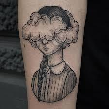 best 25 rain cloud tattoos ideas on pinterest black cloud