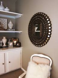Living Room Cabinet Home Decoration Fabulous Wall Mirrors Design With Brass Wall