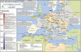 Battle Of Kursk Map European Map World War Ii 1942 Through 1945